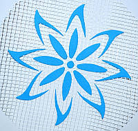 Цветок №122 А5 - декор для жидких обоев