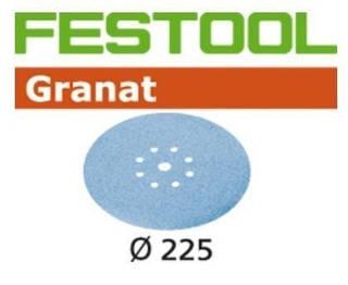 Шлифовальный круг stf-d 225/8 p 80 гр 1шт Festool