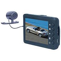 Автомобильный видеорегистратор EPLUTUS DVR-218 с выносной камерой заднего вида
