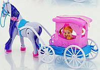 Карета с лошадью для куклы 686-708