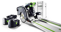 Циркулярная пила Festool hkc 55 li 5,2 eb-plus-fs 1400