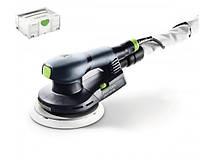 Эксцентриковая шлифовальная машинка ets ec 150/3 eq-plus 400Вт / 3 мм + Систейнер sys 2 t-loc Festool