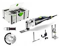 Многофункциональный инструмент VECTURO os 400 eq-set 400 Вт + аксессуары+ систейнер sys 2 t-loc df Festool