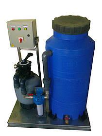 Станция очистки и регенерации сточных вод