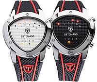 Наручные бинарные светодидные часы  Detomaso Compasso- 2 варианта