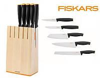 Набор из 5 ножей в блоке Functional Form Fiskars