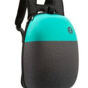 Рюкзак Zipit Shell цвет Black&Turquoise