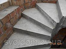 Монолитные железобетонные лестницы винтовые и прямые