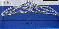 Детская диадема, корона, тиара высота 3,5 см.