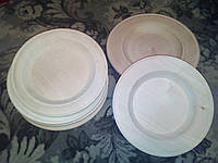 Деревянная тарелка точенная из дерева для художественной резьбы