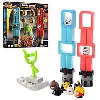 """Игра """"Angry Birds+ Star Wars"""", катапульта, звук, свет, фигурки 8шт, батар., в кор.37*37*6,5см(24шт)"""