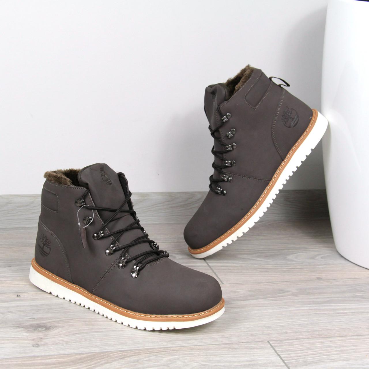 72c15773 Ботинки Мужские зимние Timberland коричневые мех, зимняя обувь, ...