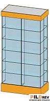 4-х Сторонняя витрина в зал(1000х540х20000мм) ДСП