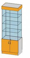 4-х Сторонняя витрина в зал(850х450х1955мм) ДСП