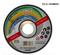 Диск универсальный для металла Incoflex / пвх / бетон 125 x 1,6 мм multi