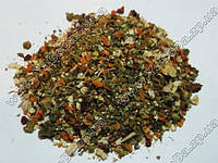 11 пряных овощей (томаты, морковь, зел. и кр. паприка; корень сельдерея, петрушки)