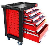 Шкаф 6-выдвижных ящиков + инструменты 220 элем. Jobi