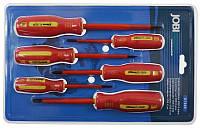 Отвертки 6 штук vde для электриков x7303 Jobi