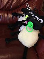 М'ягка декоративна вовняна іграшка Баранчик Шон, фото 1