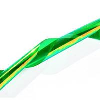 Фольга для ногтей, битое стекло № 07, ширина 5 см, цвет изумрудный хамелеон