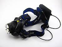 Налобный светодиодный фонарь Luxury GL- 204  XMLT6, фото 1