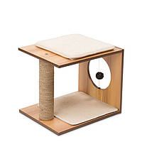 Hagen Vesper V-Stool Walnut когтеточка для кошек орех 46.5x37x37см