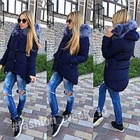 Женская зимняя куртка большого размера (2 цвета)