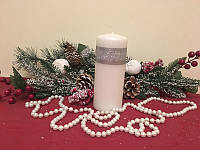 Свечка декоративная парафиновая Цилиндр, 5.8*15 см