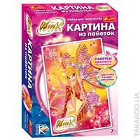 """Картинки з паєток  Вінкс """"Стела"""", 34*24*5см, ТМ Ранок, Україна"""