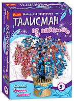 "Талисман из паеток ""Дерево любви"", в кор. 33*24*5см, произ-во Украина, Ранок"
