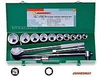 Ключи торцевые Jonnesway 3/4 14шт. 6-гранные 22-50мм