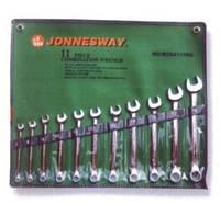 Ключи плоско-кольцевые дюймовые, комплект 11шт. w26411sa Jonnesway