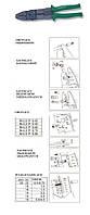 Щипцы для коннекторов, 8 функций v1402 Jonnesway