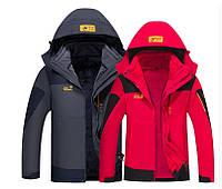 Отличная мужская куртка 2 в 1 JACK WOLFSKIN. Хорошее качество. Стильный дизайн. Купить онлайн. Код: КДН1095