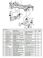 Сайлентблок задний переднего рычага BYD F3/ F3R/ Geely SL/ FC/ Emgrand EC7/ Lifan 620 GLOBER