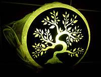 Соляная лампа Дерево