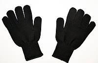 Перчатки вязанные мужские черные