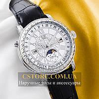 Кварцевые часы Patek Philippe Sky Moon silver white (05902)