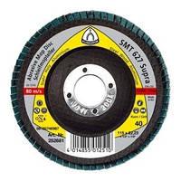 Шлифовальный круг лепестковый 125 p 80 smt627 Klingspor