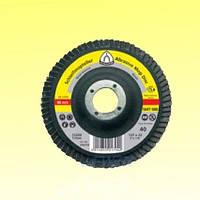 Шлифовальный круг лепестковый 125 smt800 зернистости Klingspor