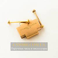Вставка в ремешок Ulysse Nardin gold с винтами (06192-1)