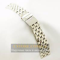Браслет Breitling серебро 22х20мм (06198)