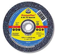 Шлифовальный круг для металла 125*1,0 a60 tz special Klingspor
