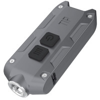 Фонарь Nitecore TIP (Cree XP-G2, 360 люмен, 4 режима, USB), серый
