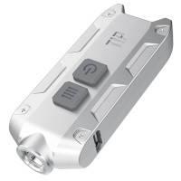 Фонарь Nitecore TIP (Cree XP-G2, 360 люмен, 4 режима, USB), стальной, фото 2