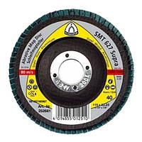 Лепестковый круг для древесины 115 р 40 smt627 Klingspor