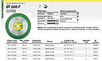 Алмазный отрезной диск полный 180 x 1,6 x 30/25,4 мм dt600f для керамики Klingspor