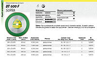 Алмазный отрезной диск полный 250 х 1,9 х 30/25,4 мм dt600f для керамики Klingspor
