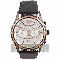Часы Emporio Armani black white (06300)