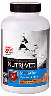 Nutri-Vet Multi-Vite Chewables Мульти витамины, 120 шт